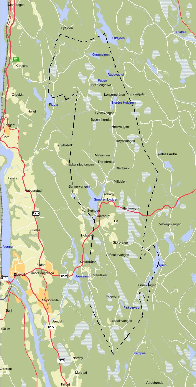 eidsvoll kart Kart – Eidsvoll Almenning eidsvoll kart